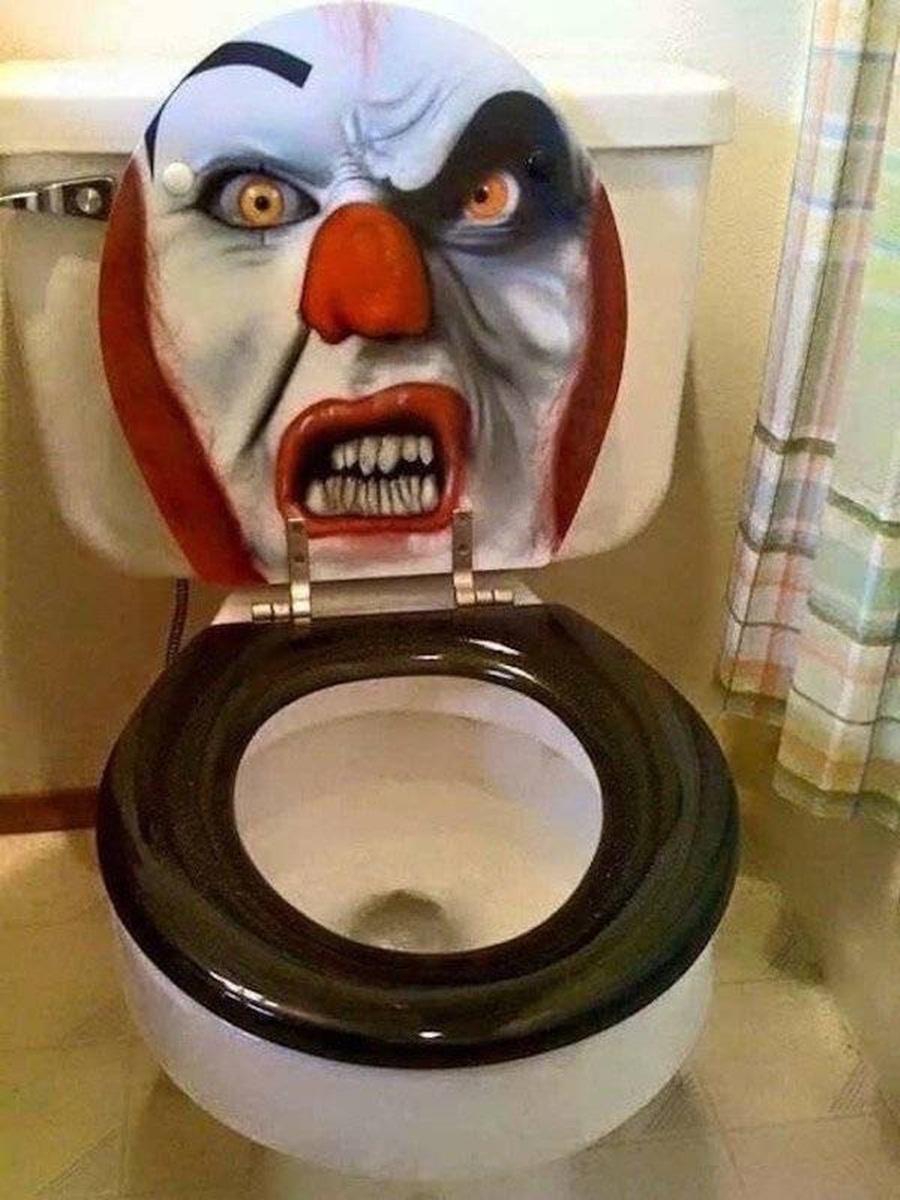 Картинка туалет прикол, начальника днем