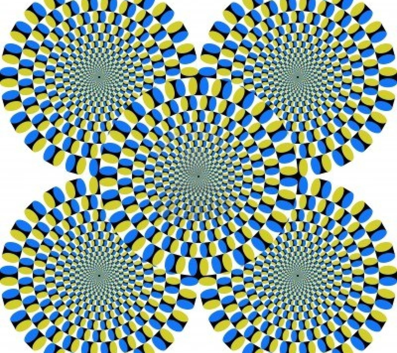 Иллюзии движения картинки с объяснением