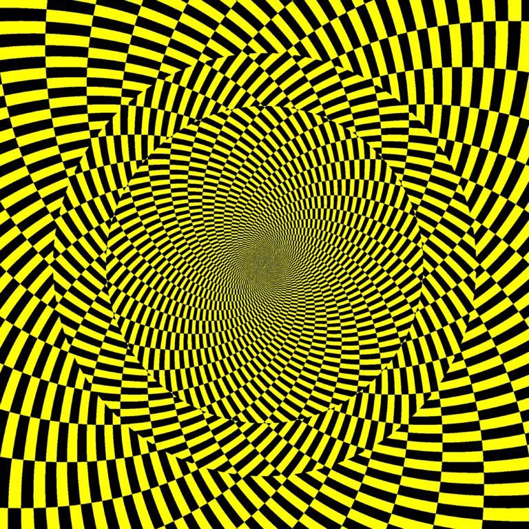 иллюзия движущаяся картинка образом