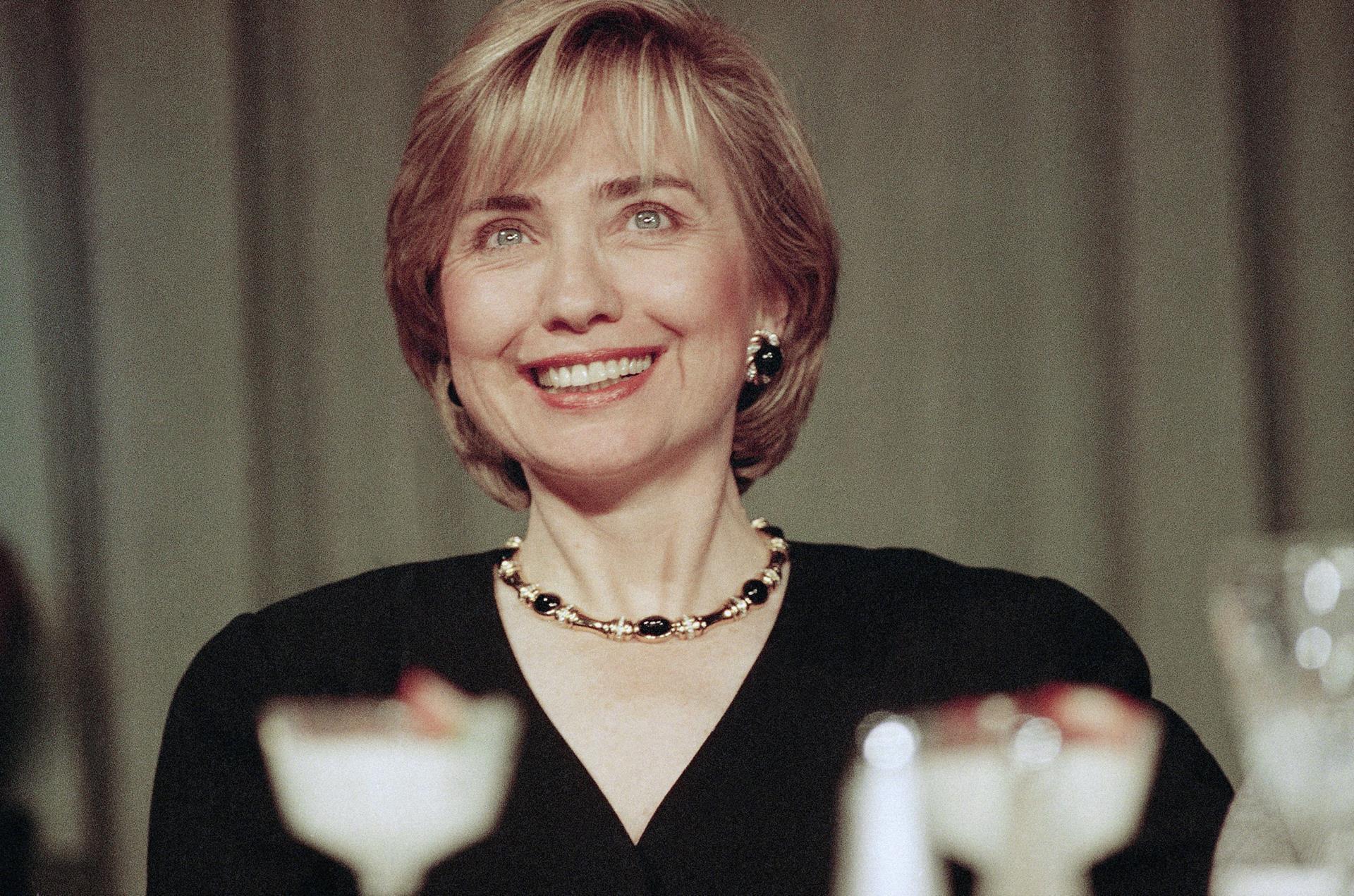 молодая хиллари клинтон фото нас