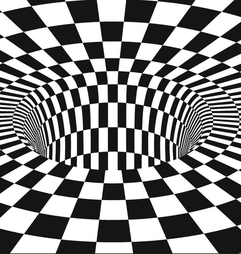 Картинки оптических иллюзий и обманов
