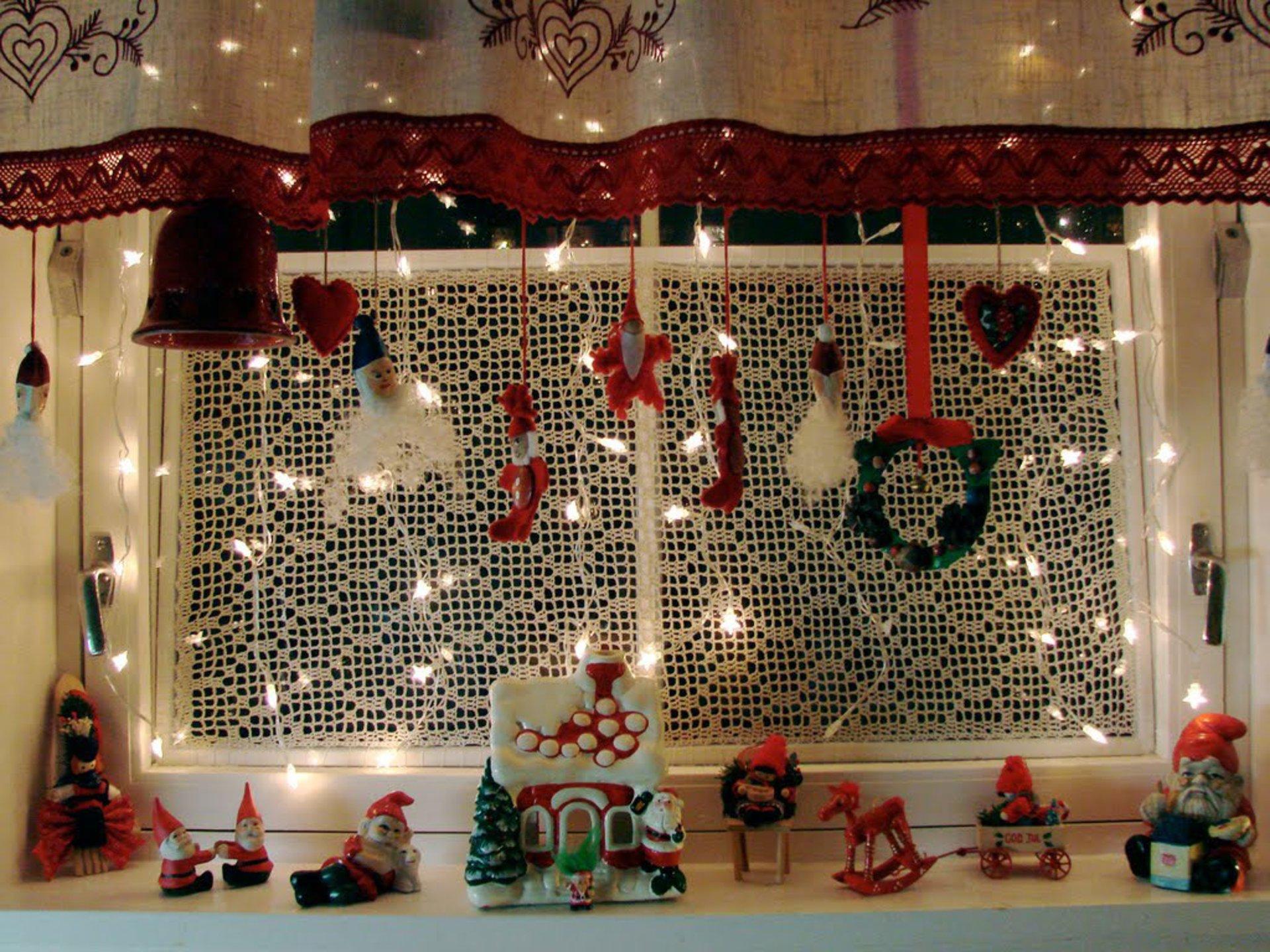 идеи украшения дома к новому году фото корея достаточно
