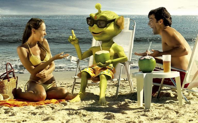 Смешная картинка пляж