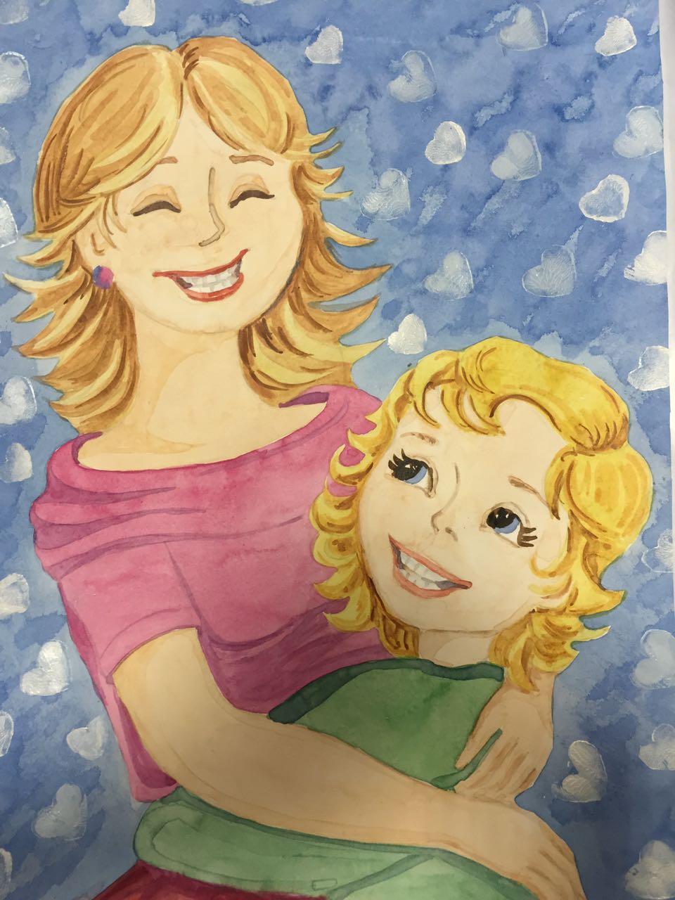 Картинки день мамы детские, пасхе или
