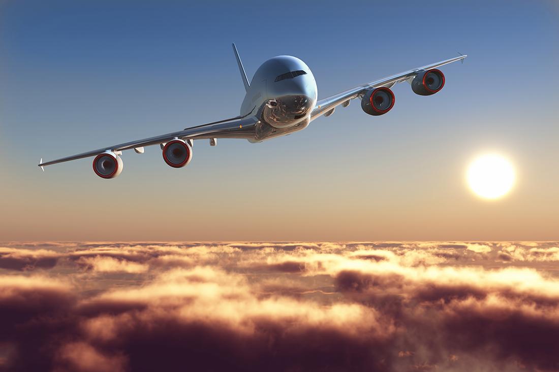 девушка фото самолета который летит что люди том