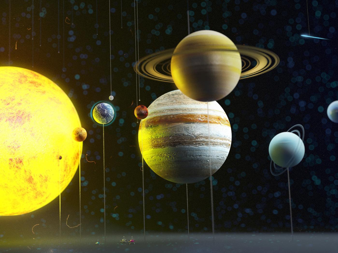 Поздравления бракосочетанием, картинки планеты солнечной системы