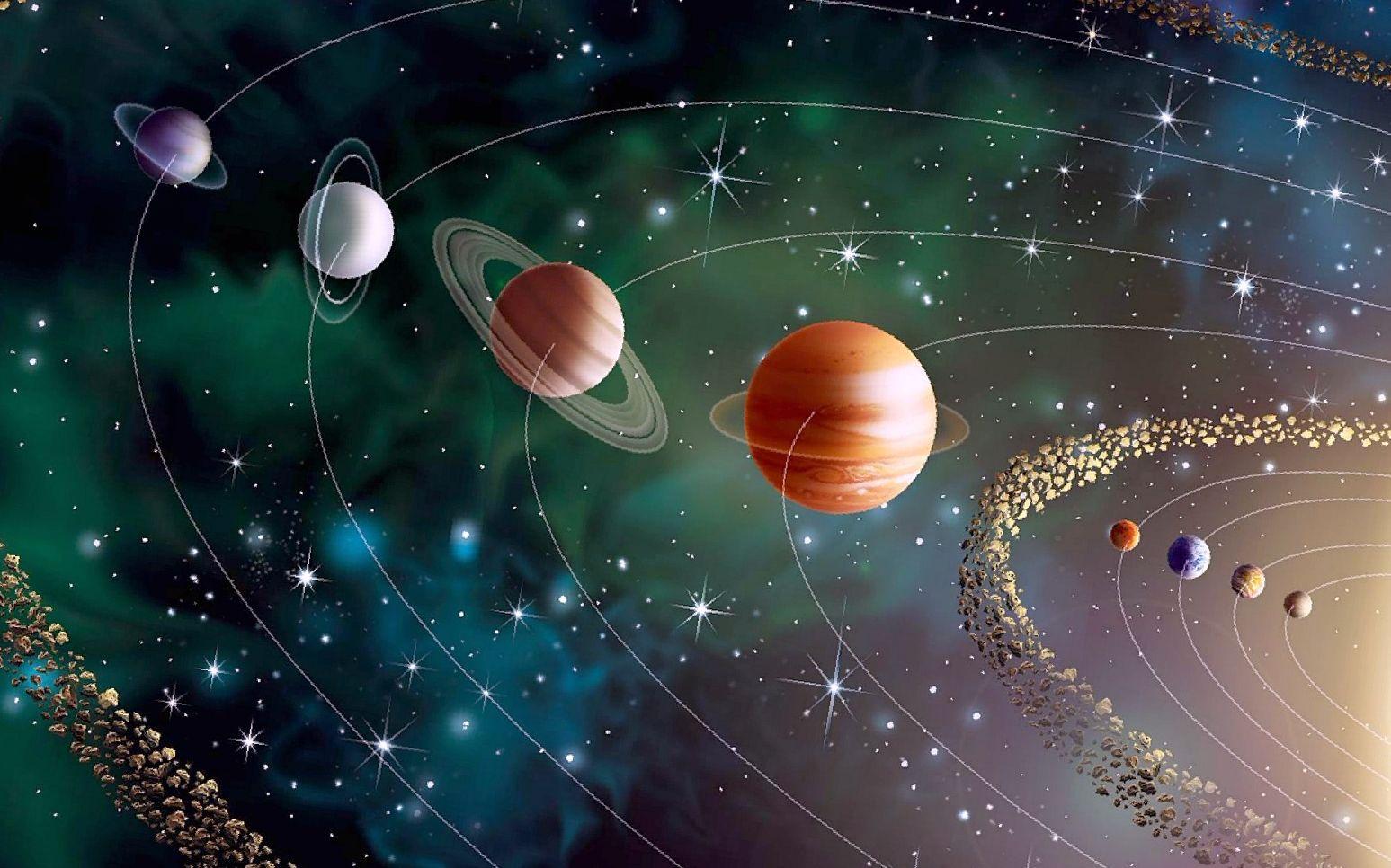 картинки на рабочий стол планеты солнечной системы названия понятно
