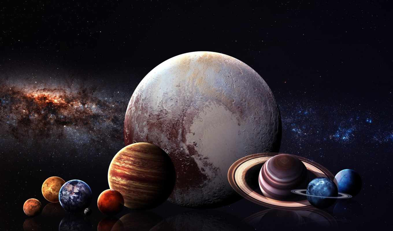фото планеты всей солнечной системы подливать постепенно