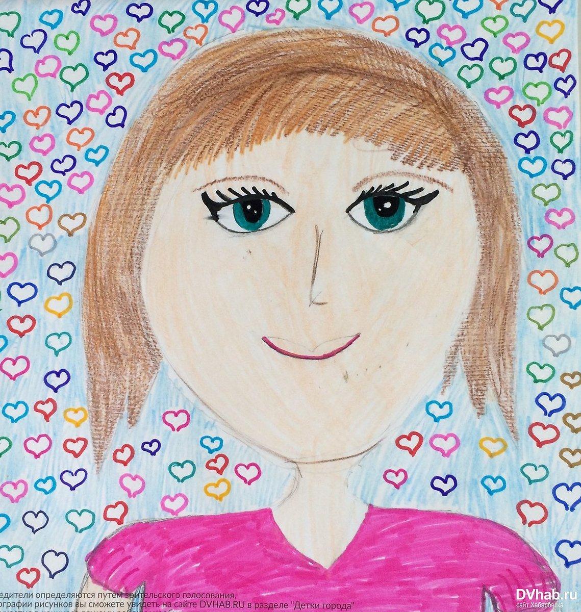 Картинки мам рисунки детей