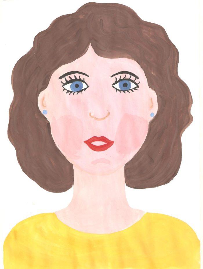 Картинки как нарисовать маму картинки