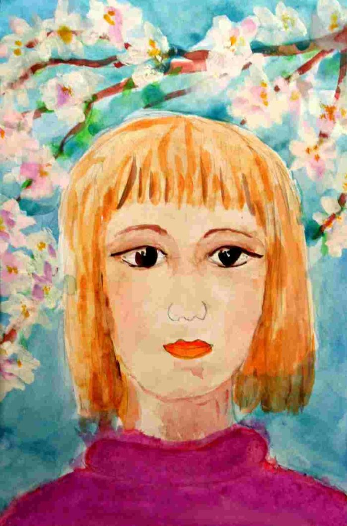 Картинки портреты маме