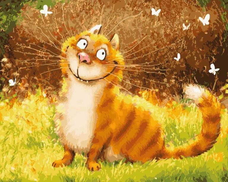 картинки с котом как настроение праздником