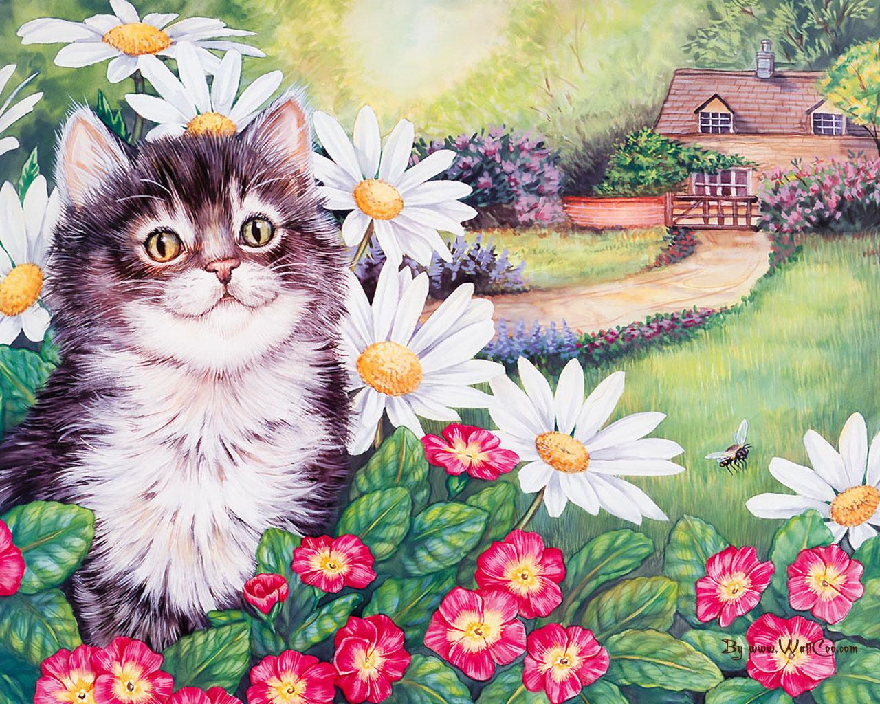 Картинки хорошенькие котята оценка живописи