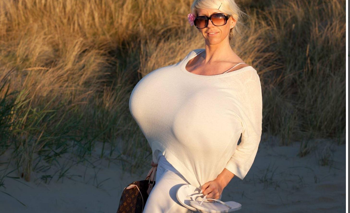 Самая огромная грудь в мире жена