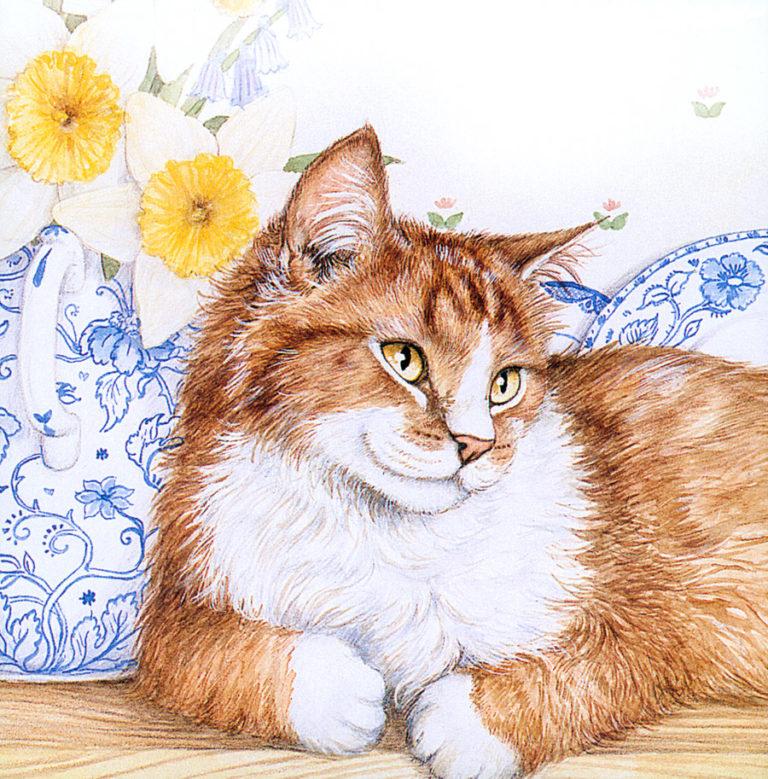 Рисунок кот картинки