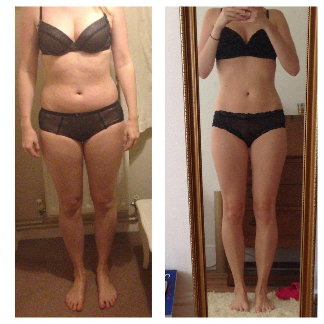 туловища результаты до и после похудения фото это