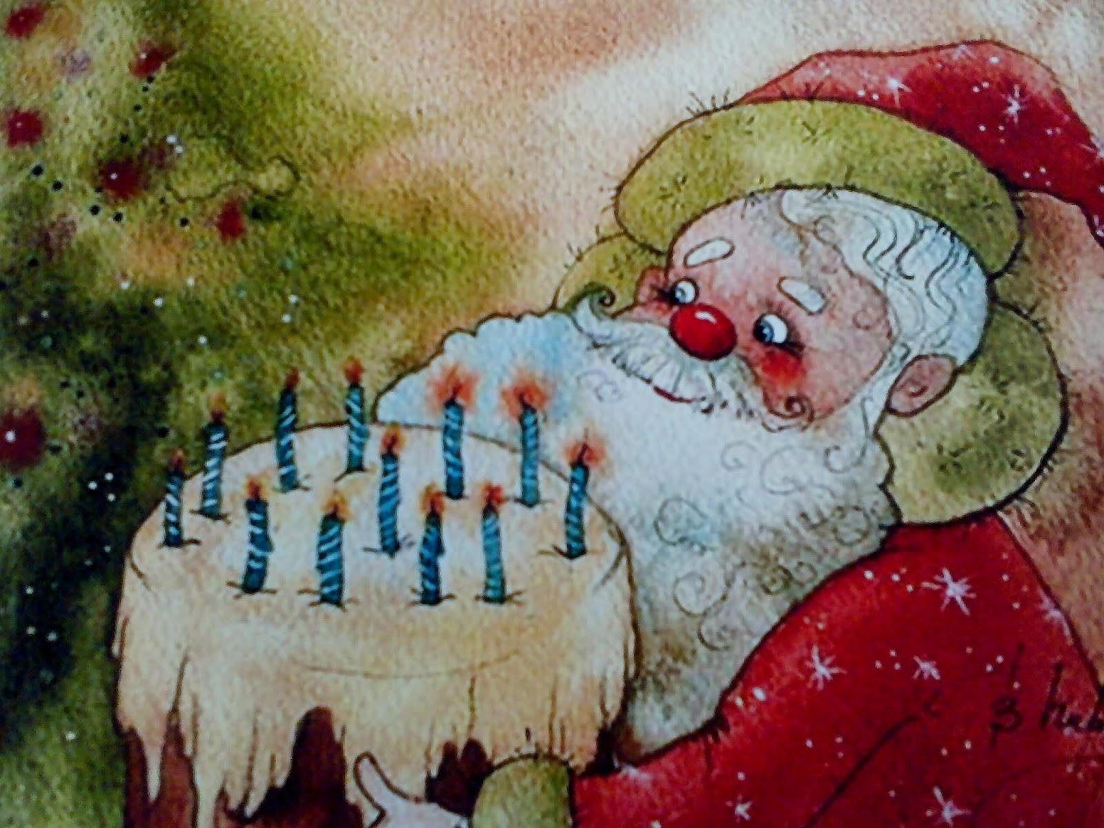 Днем, открытки деду морозу на день рождения