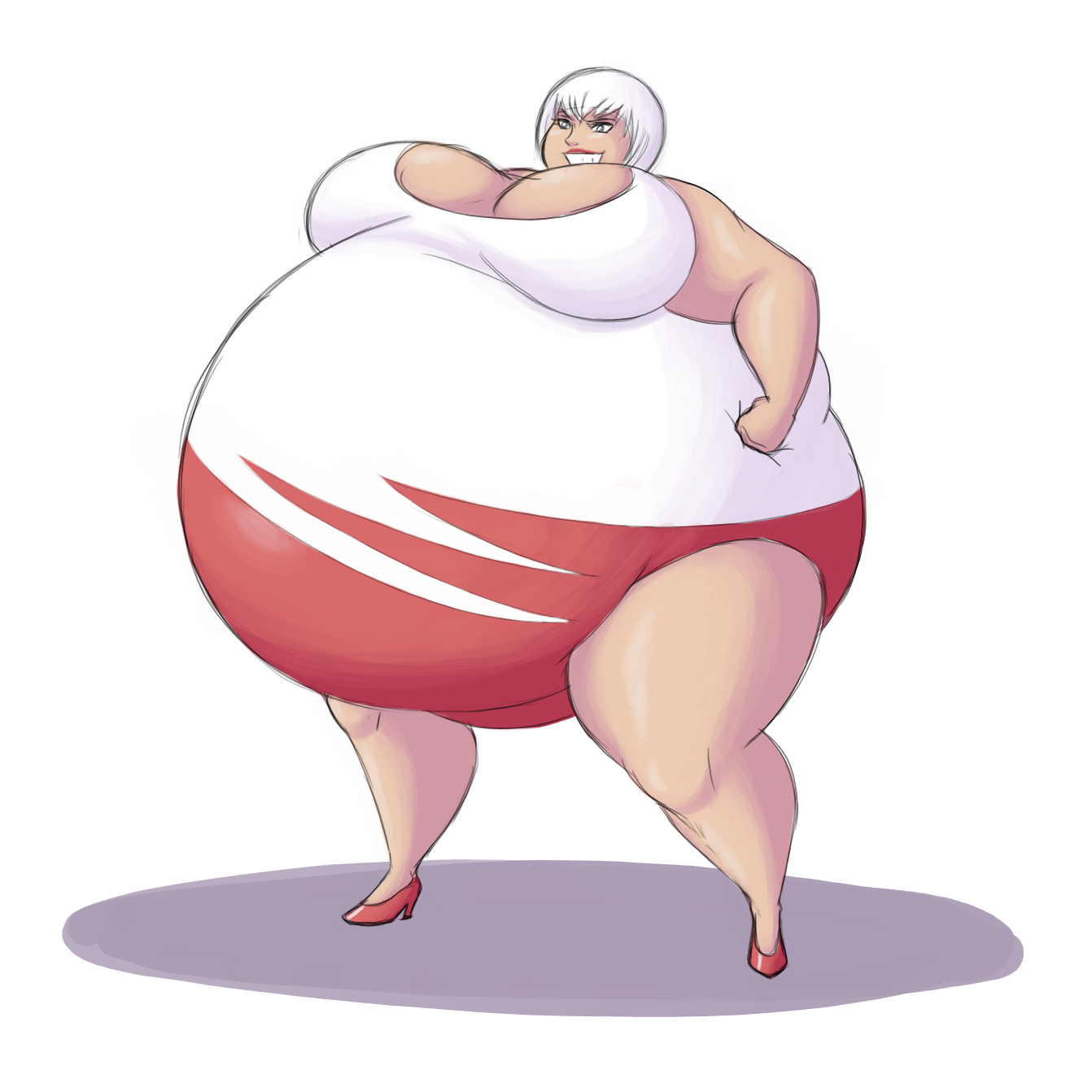 Недовольные, приколы с толстухами картинки