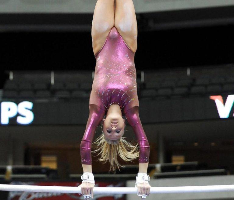 Засветилась спортсменки гимнастки видео