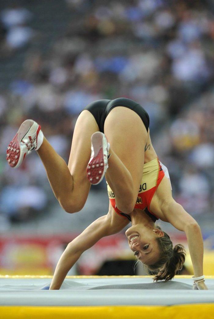 Прикольные картинки спортсменка