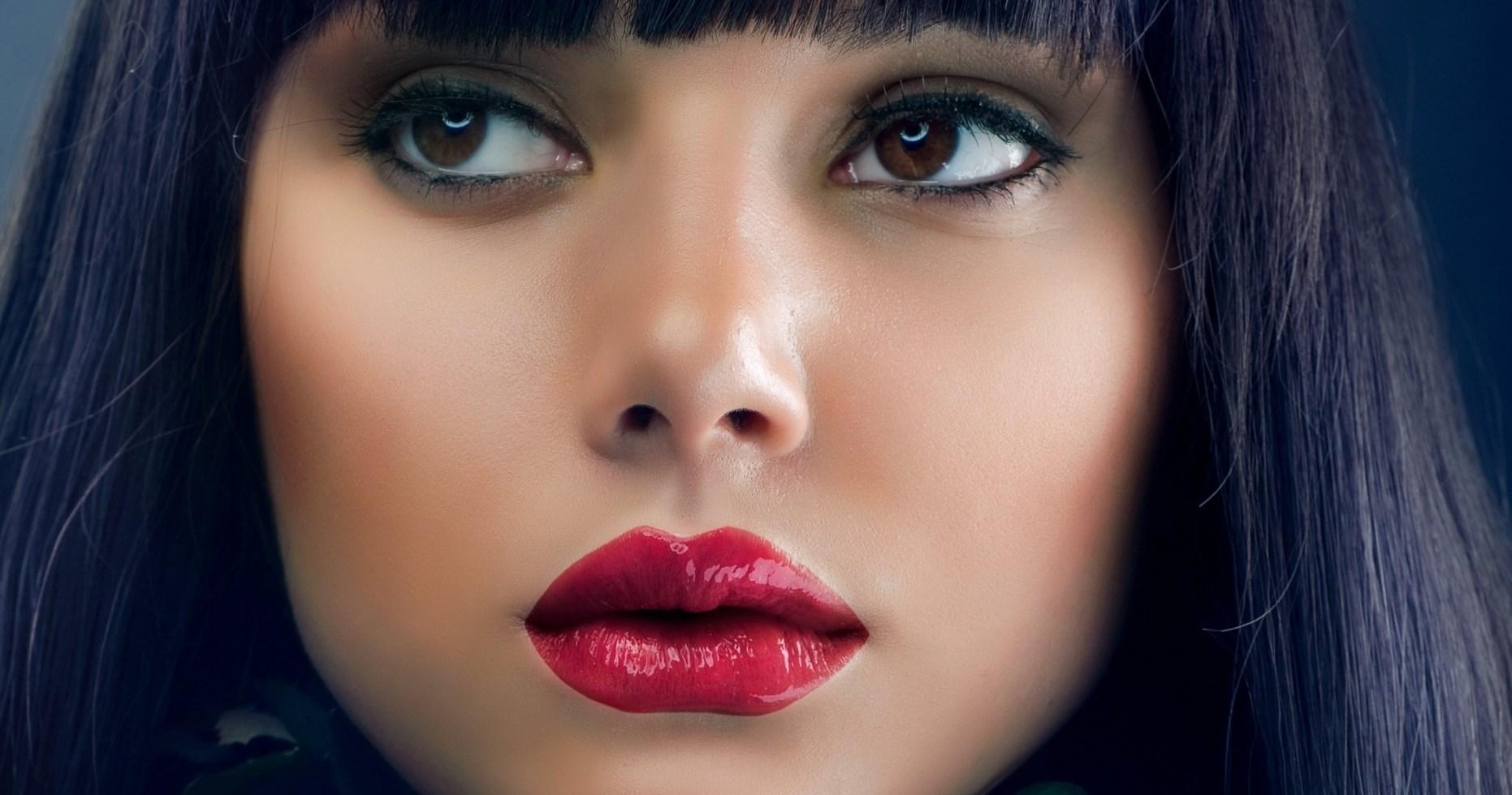 Красивые картинки девушек губы
