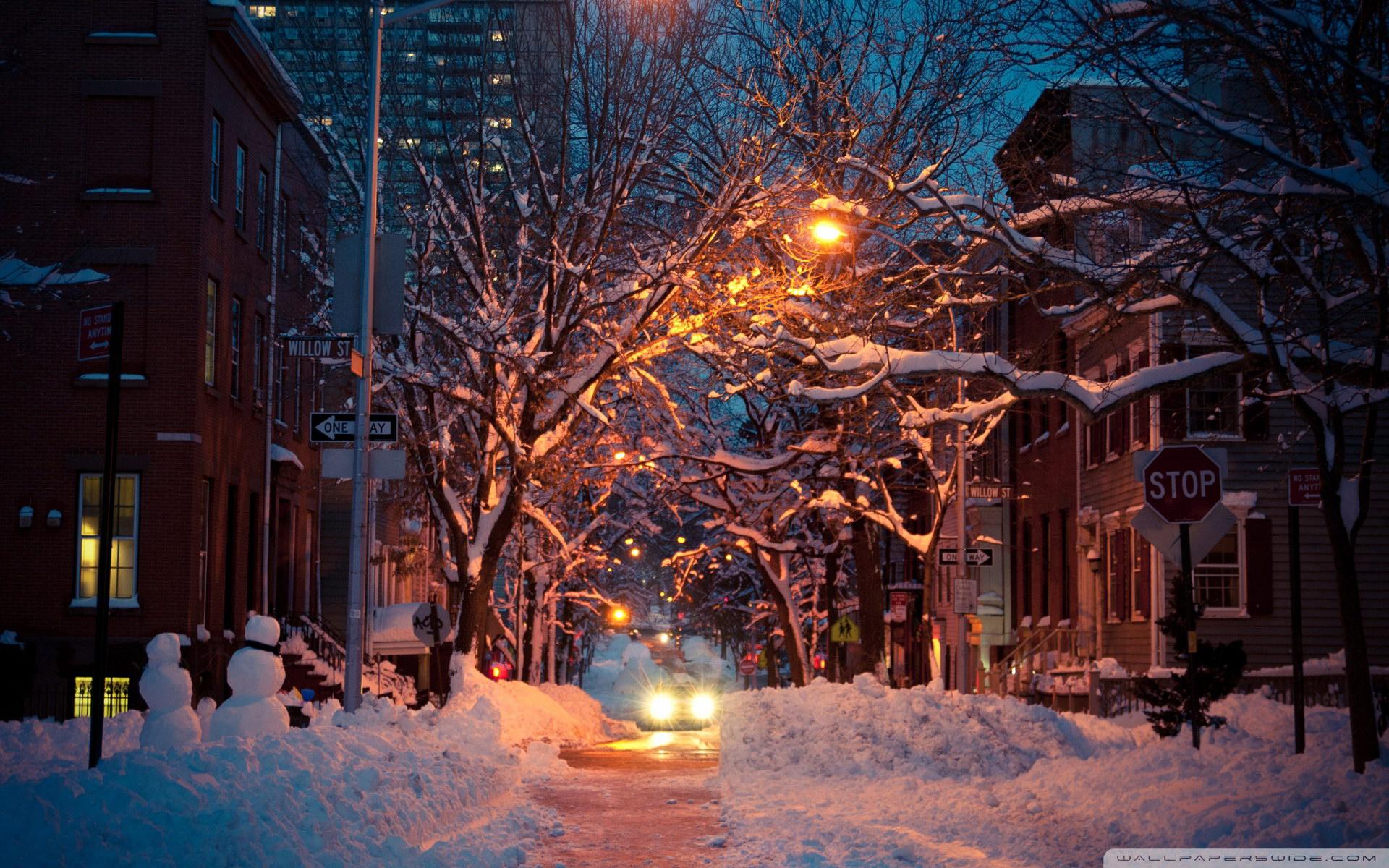 Обои фонари, вечерний город, ночной город. Города foto 17