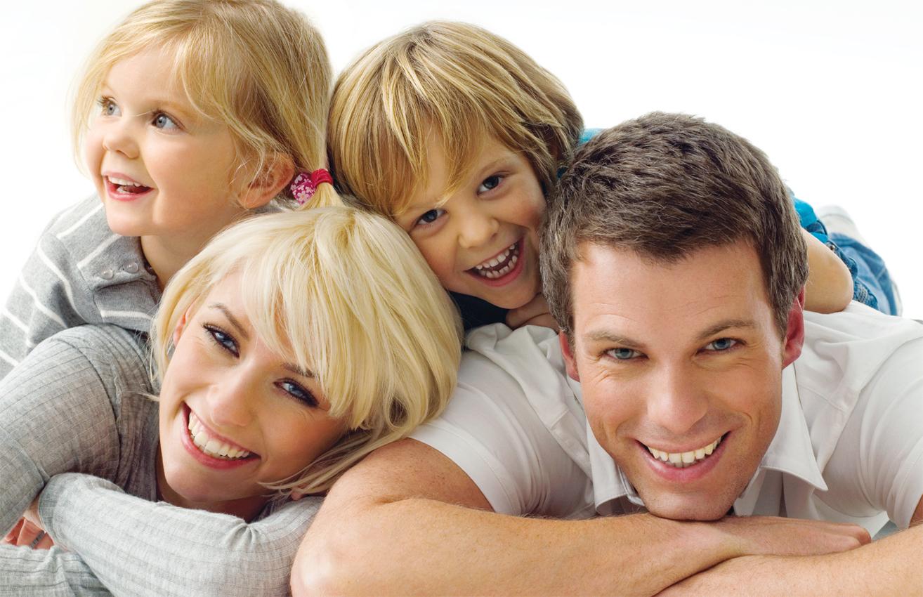 Радостные дети и родители картинки