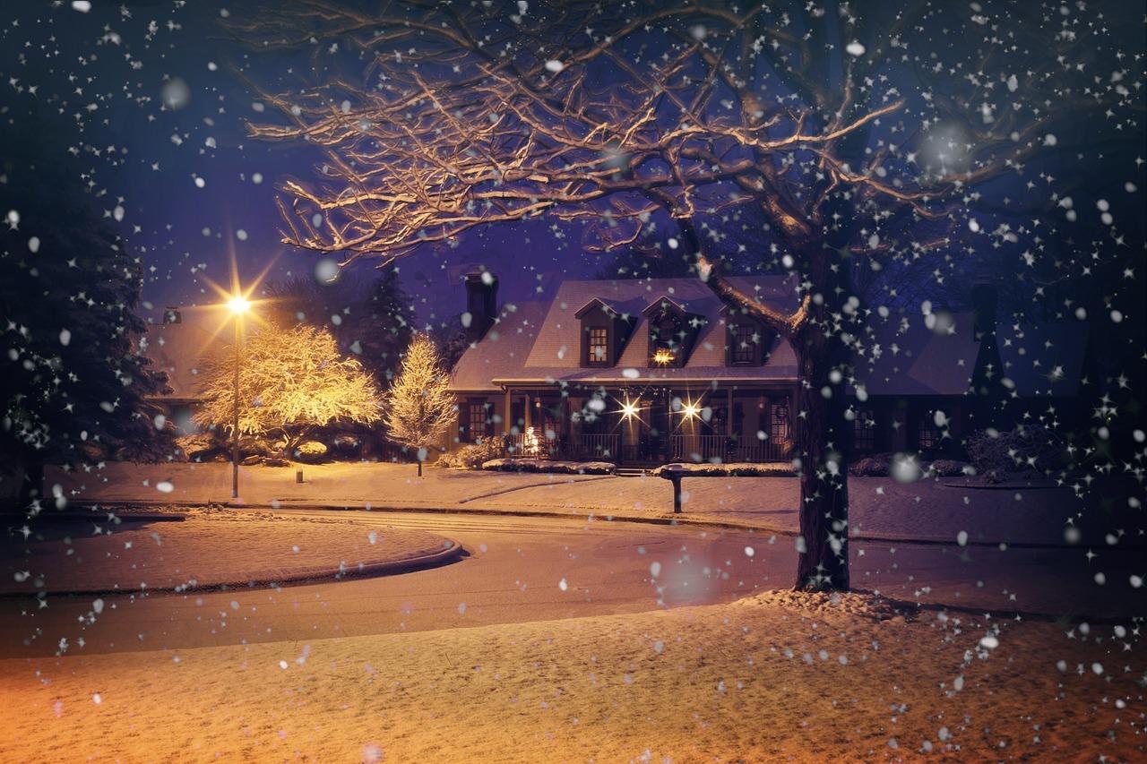 реальности красивые фото снегопада объемный