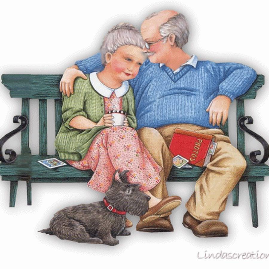 День, рисунок день пожилого человека