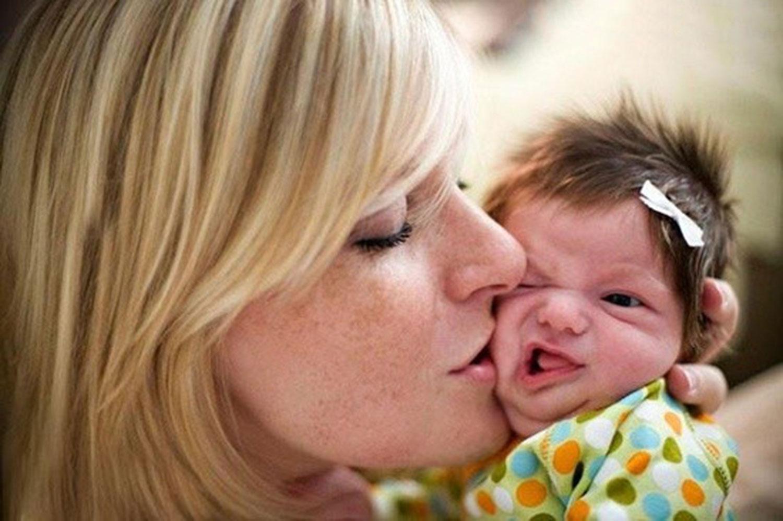 Внучку, мать и дитя смешные картинки