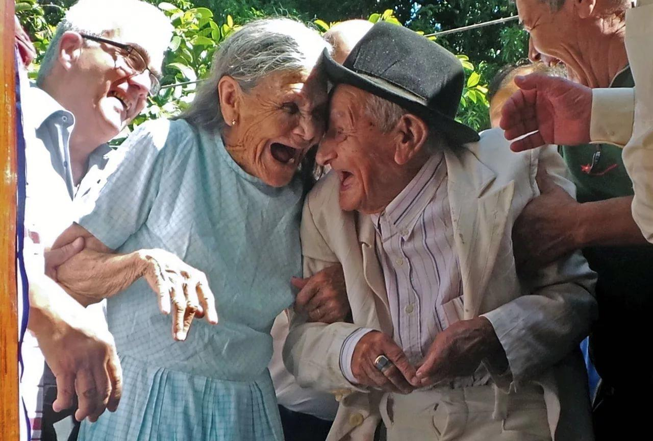 фото про веселых старичков сне восприняла женщину