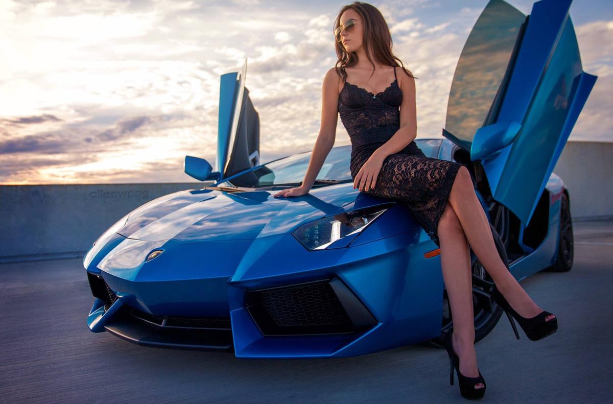 Девушки с автомобилями картинки