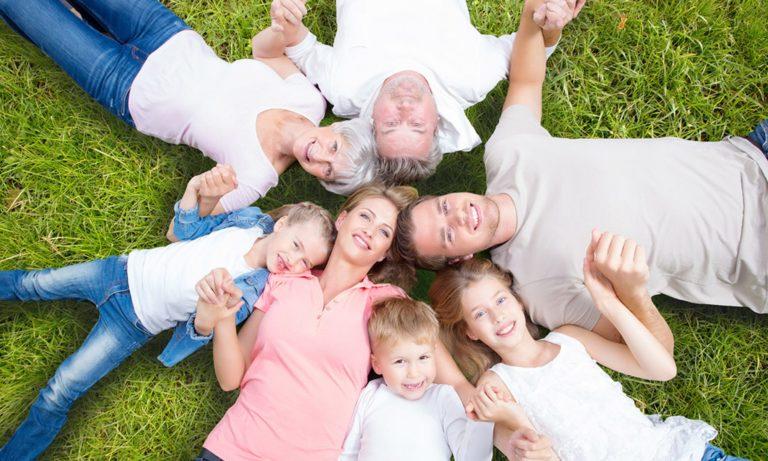 Большая семья картинки фото, днем рождения для