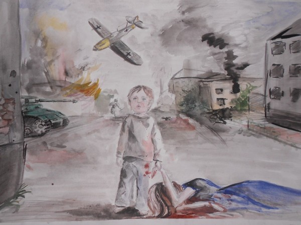 Рисунок дети войны