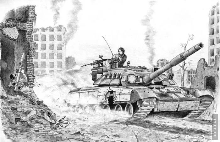 Картинки о войне карандашом