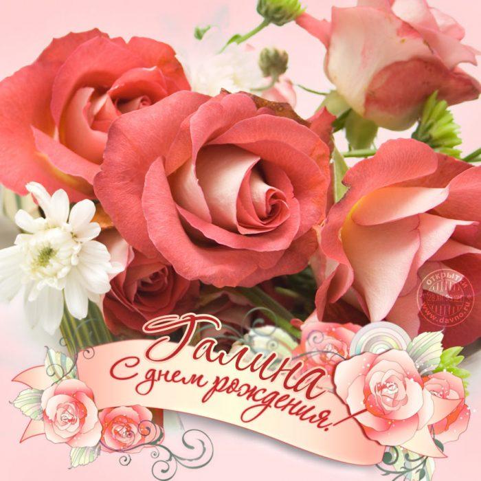 открытки поздравления галине гиф все