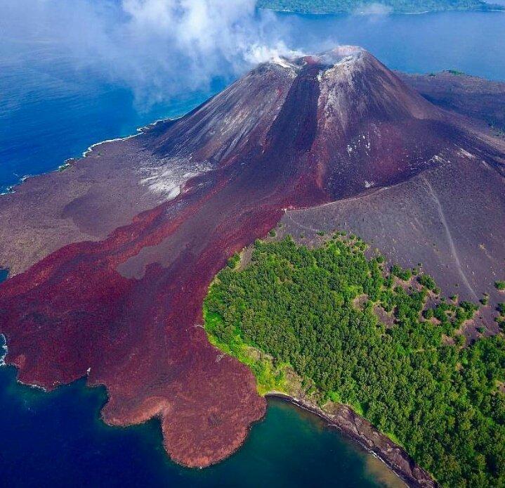 минуту картинки про остров вулкана россию