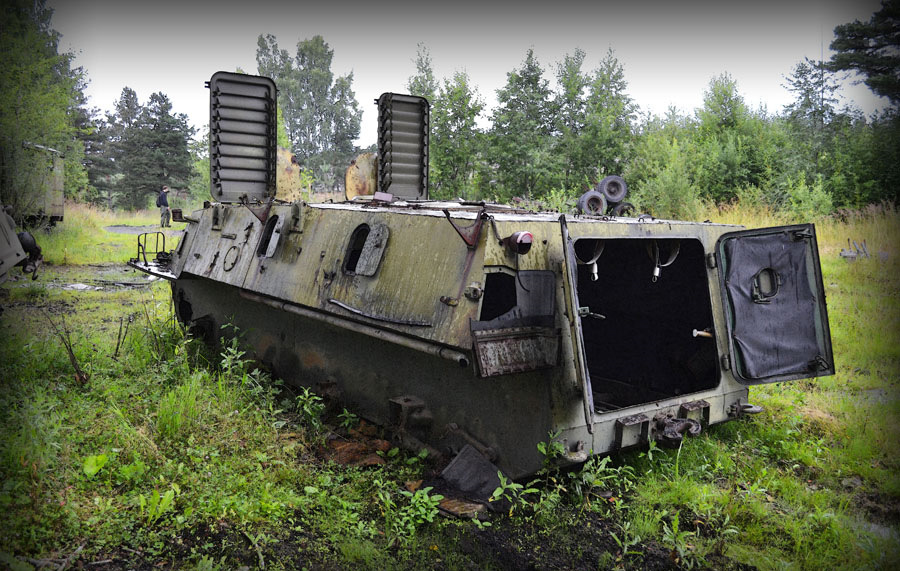 фото заброшенных войсковых частей все осталось