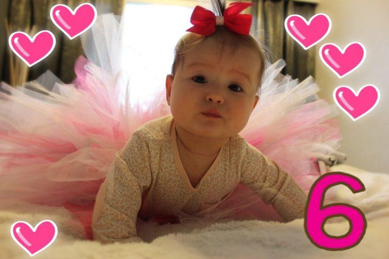 Поздравления с 6 месяцами рождения малышку