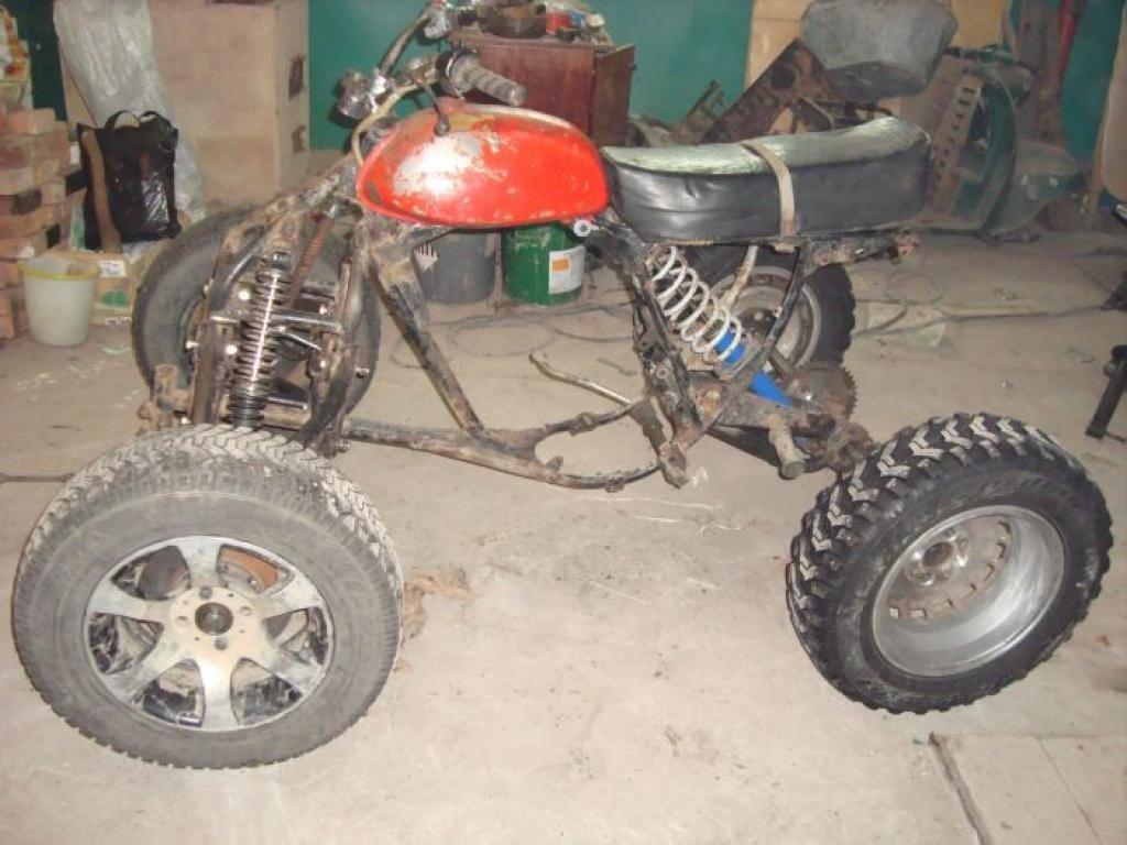 Самодельный квадроцикл из минска фото