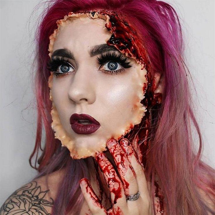 фотки макияжа на хэллоуин агрегаты