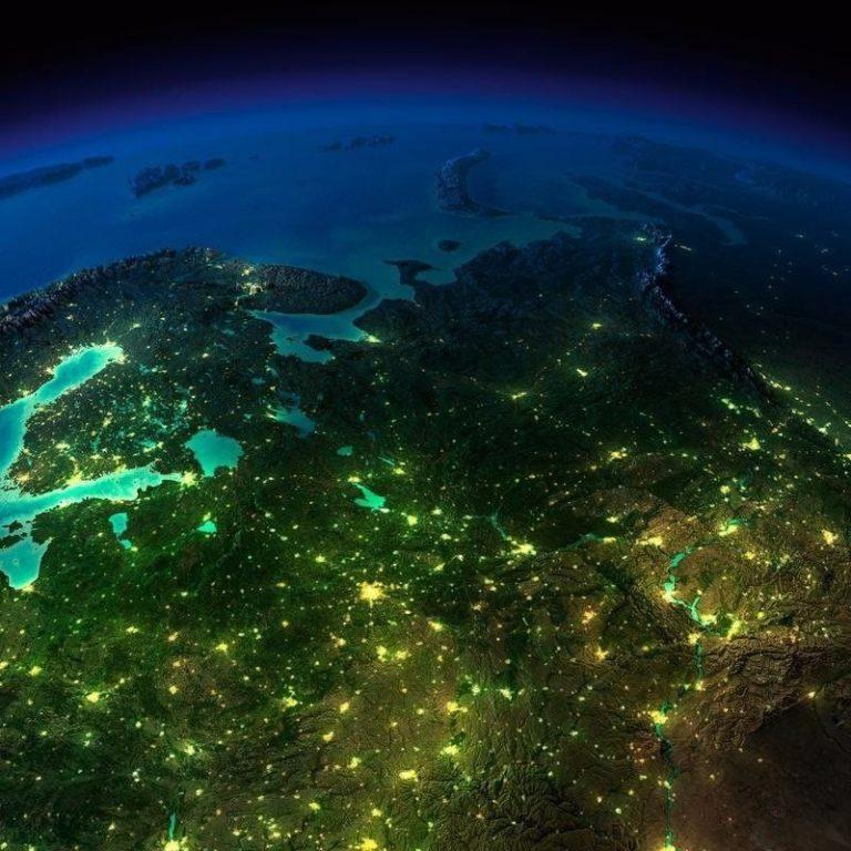 Картинки ландшафта европы спутник