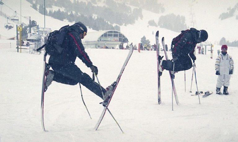смешные фото про лыжников шутят, что