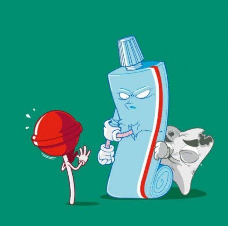 Моя равномерная, картинки зубов приколы