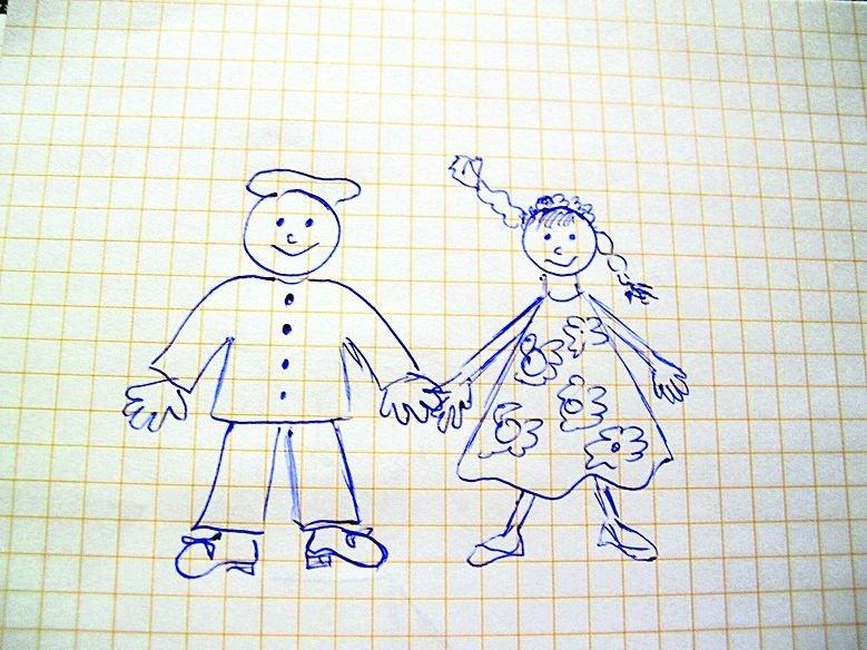 Сделать, смешные рисунки на уроках карандашом