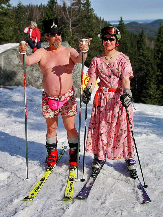 Смешной, лыжницы картинки смешные