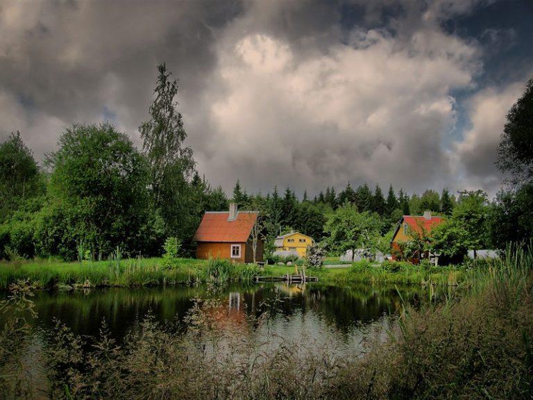 Деревня картинки красивые