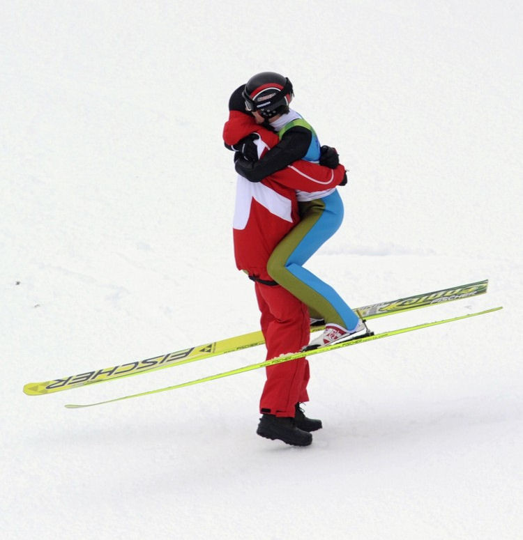 Смешные, прикольные картинки лыжники