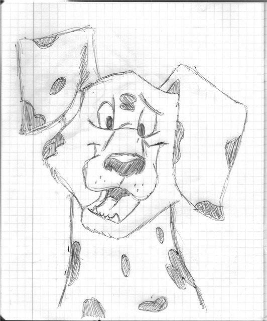Скрапбукинг, смешные рисунки на тетрадном листе