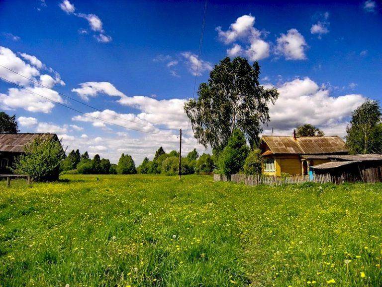 Картинки моя деревня